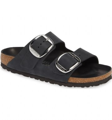 Birkenstock 'ARIZONA' BIG BUCKLE Black